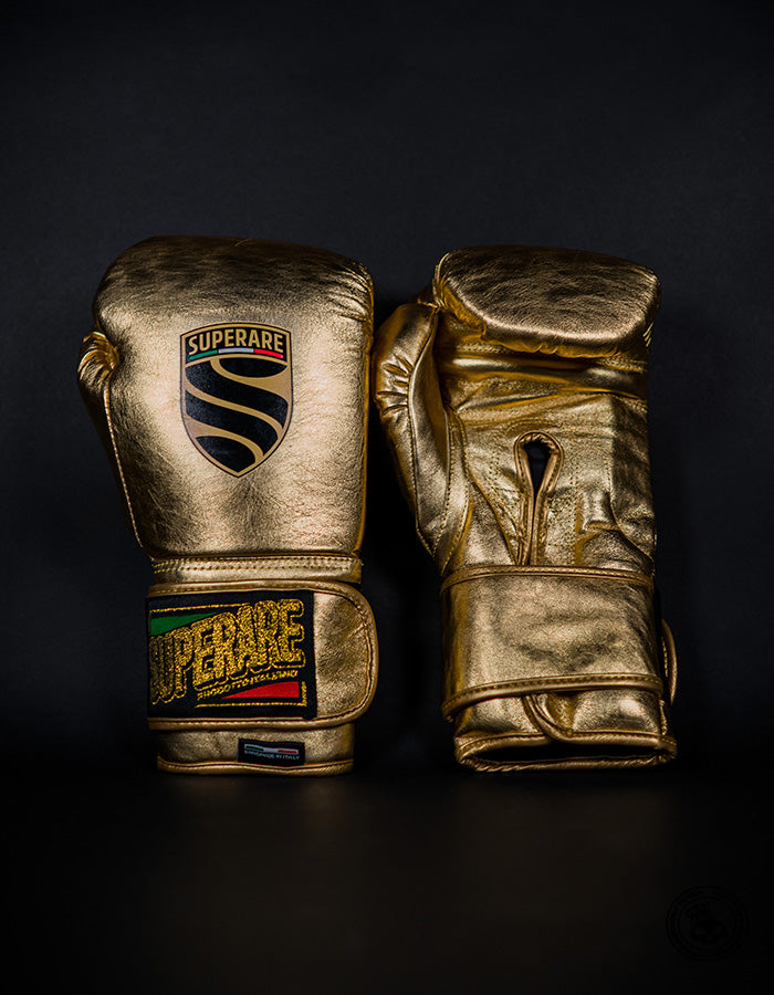 Superare S50 Velcro Gloves - Gold