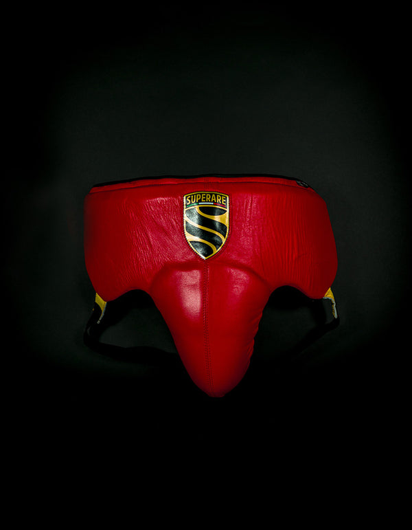Superare S355 No Foul Protector - Red/Black/Gold