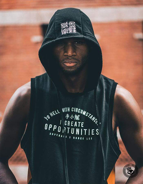 Superare x Bruce Lee Opportunities Sleeveless Hoodie