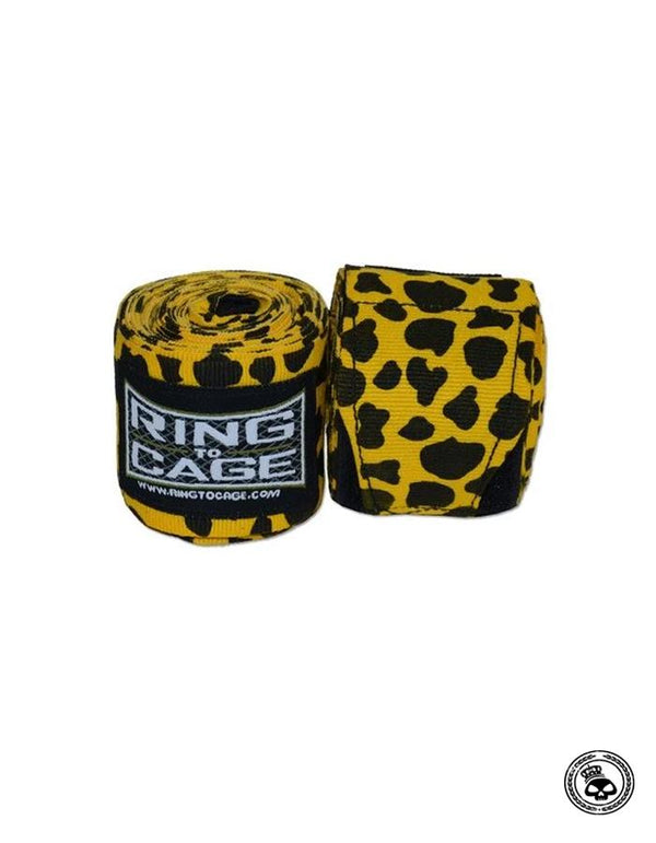 Ring To Cage Printed Hand Wraps