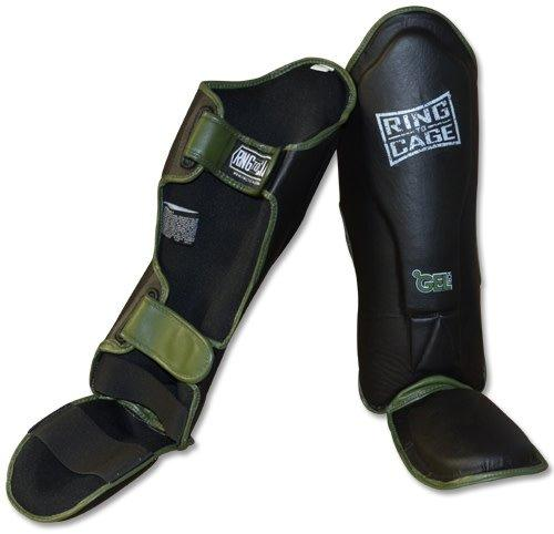 Ring To Cage Gel Tech Shin Guards