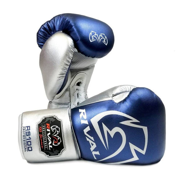 Rival RS100 Pro Sparring Lace Up Gloves - Multiple Colors