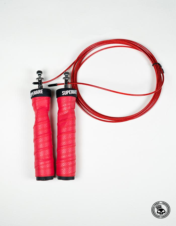 Superare Deluxe Jump Rope w/ Removable Weights