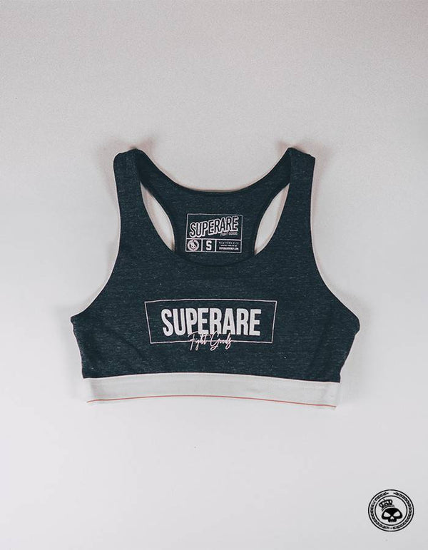 Superare Sports Bra - Dark Grey