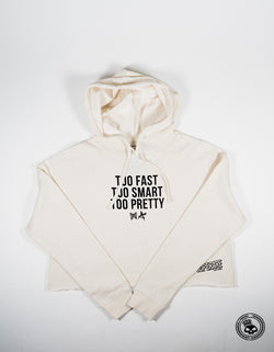Superare x Ali Too Pretty Womens Crop Hoodie