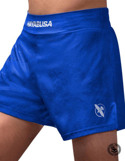 Hayabusa Arrow Kickboxing Shorts - Blue