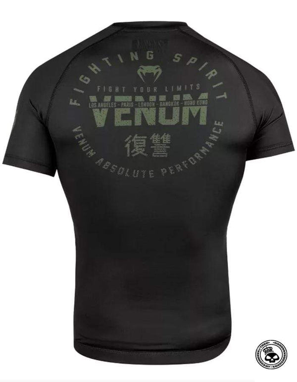 Venum Signature Short Sleeve Rash Guard