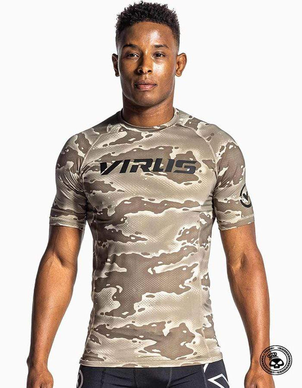 Virus United Short Sleeve Rash Guard