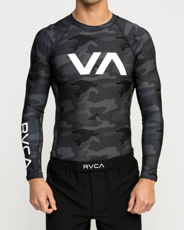 RVCA Sport Long Sleeve Rash Guards