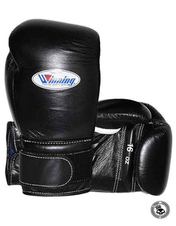 Winning Velcro Gloves - Black
