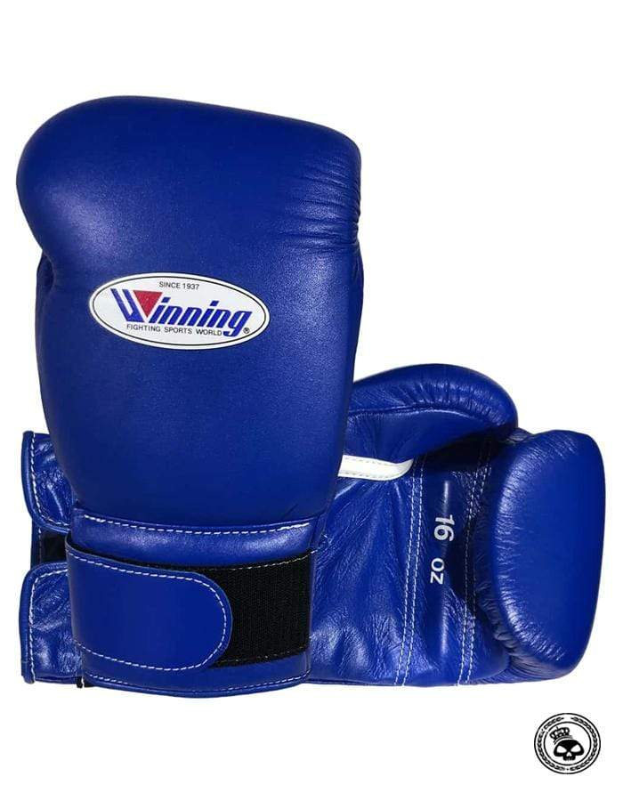 Winning Velcro Gloves - Blue