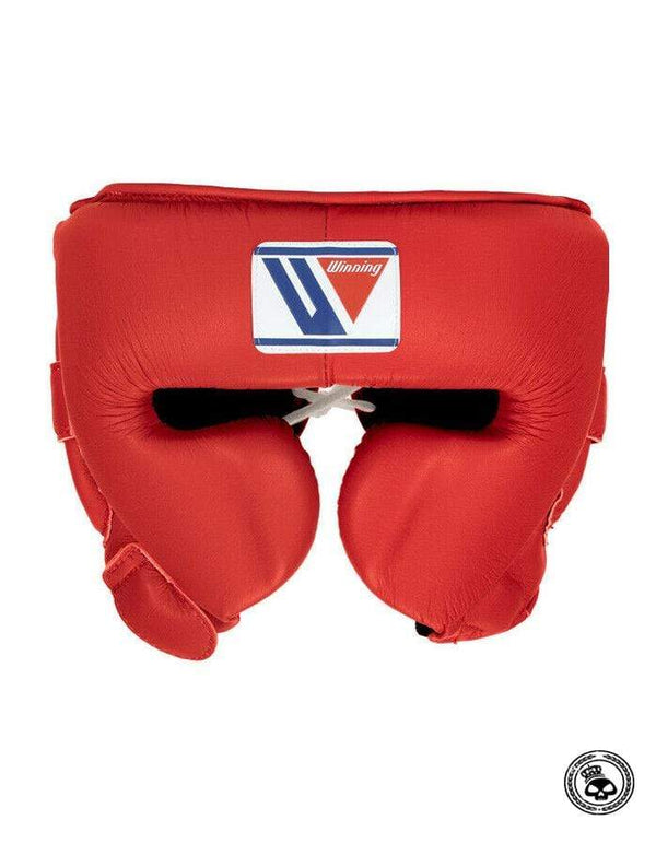 Winning Cheek Headgear - Red