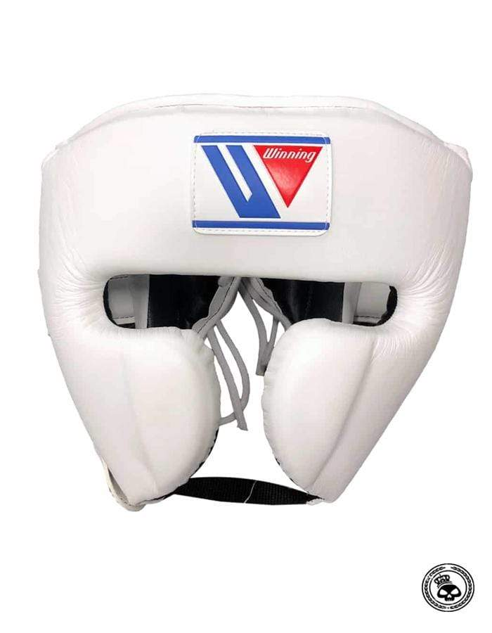 Winning Cheek Headgear - White