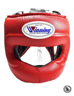 Winning Full Face Headgear - Red