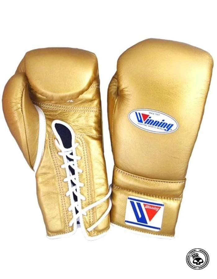Winning Custom 16 oz Lace Up Gloves - Multiple Colors