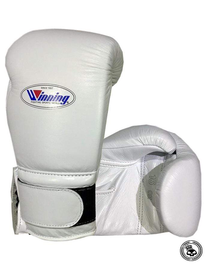 Winning Velcro Gloves - White