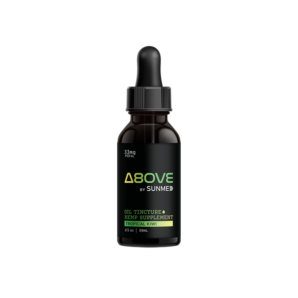 Above | Delta-8 FS Tincture 1000mg - Tropical Kiwi - YourCBDStoreCT