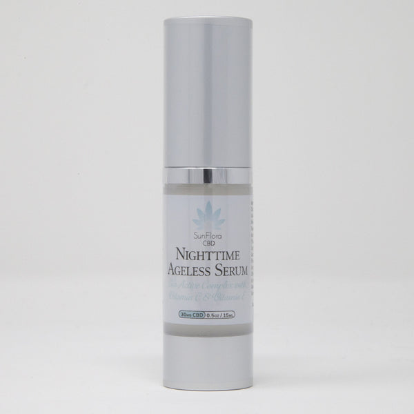 Nighttime Ageless Face Serum 30mg - YourCBDStoreCT