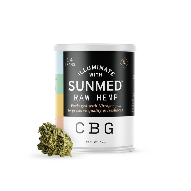 CBG Rich Raw Hemp Flower (~.3% THC) - YourCBDStoreCT