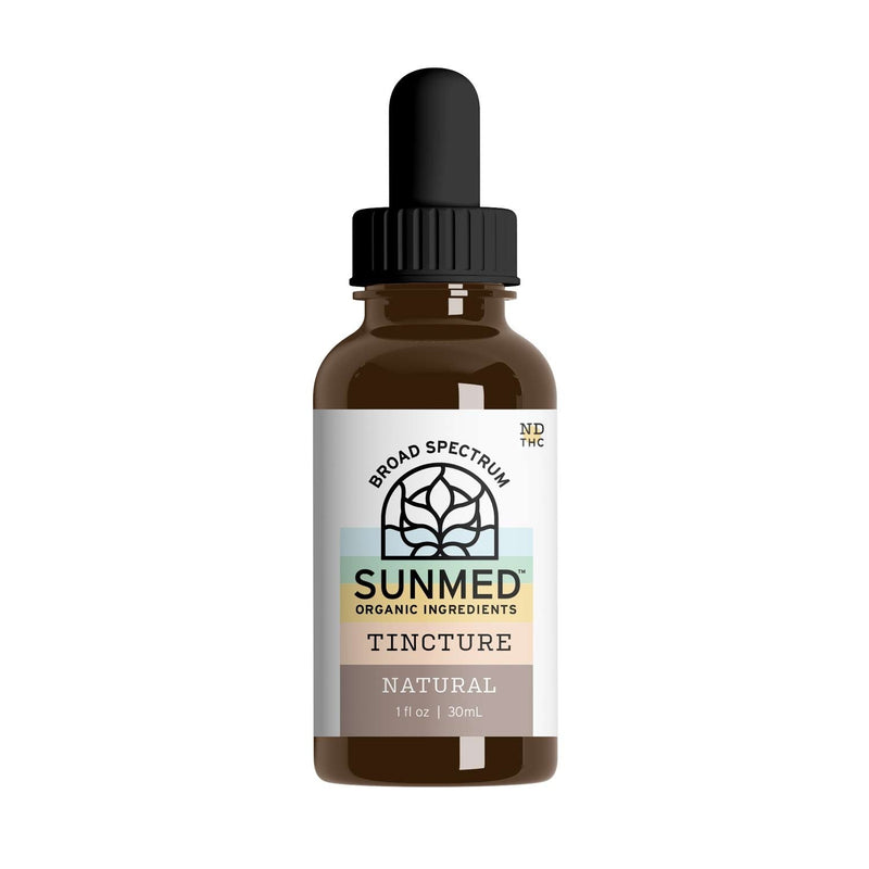 Broad Spectrum Tincture - Natural 100 mg per serving - YourCBDStoreCT