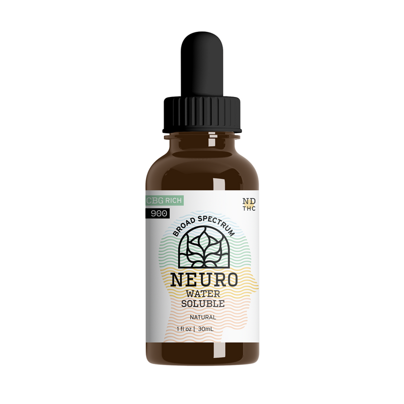 Broad Spectrum - CBG Rich Neuro - YourCBDStoreCT