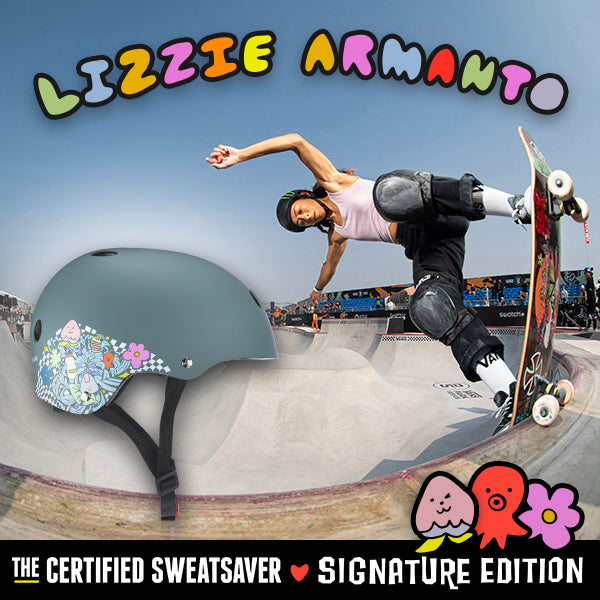 THE CERTIFIED SWEATSAVER - LIZZIE ARMANTO EDITION