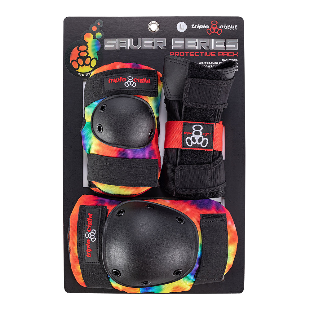 Saver Series 3-Pack skate safety gear Triple Eight SUNSET