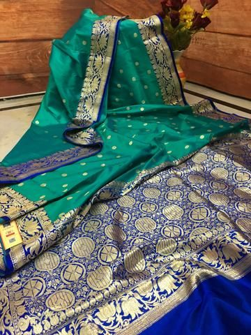 Awesome Bollywood Designer Banarasi Silk  Saree BS7039