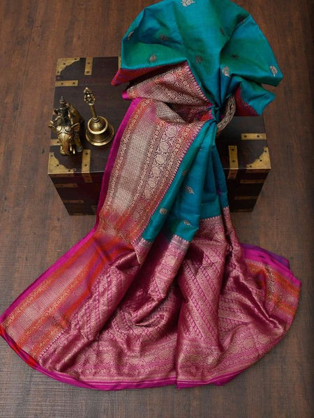 Awesome Bollywood Designer Banarasi Silk  Saree BS7111