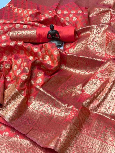 Awesome Bollywood Designer Banarasi Silk  Saree BS7117