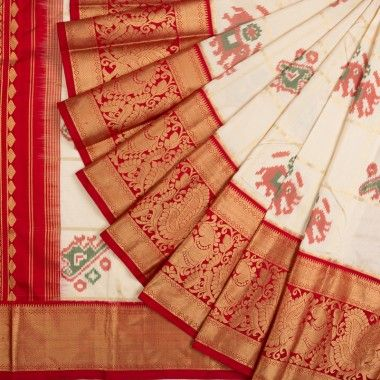 Awesome Bollywood Designer Banarasi Silk  Saree BS7157