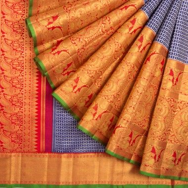 Awesome Bollywood Designer Banarasi Silk  Saree BS7196