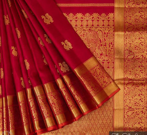 Awesome Bollywood Designer Banarasi Silk  Saree BS7214