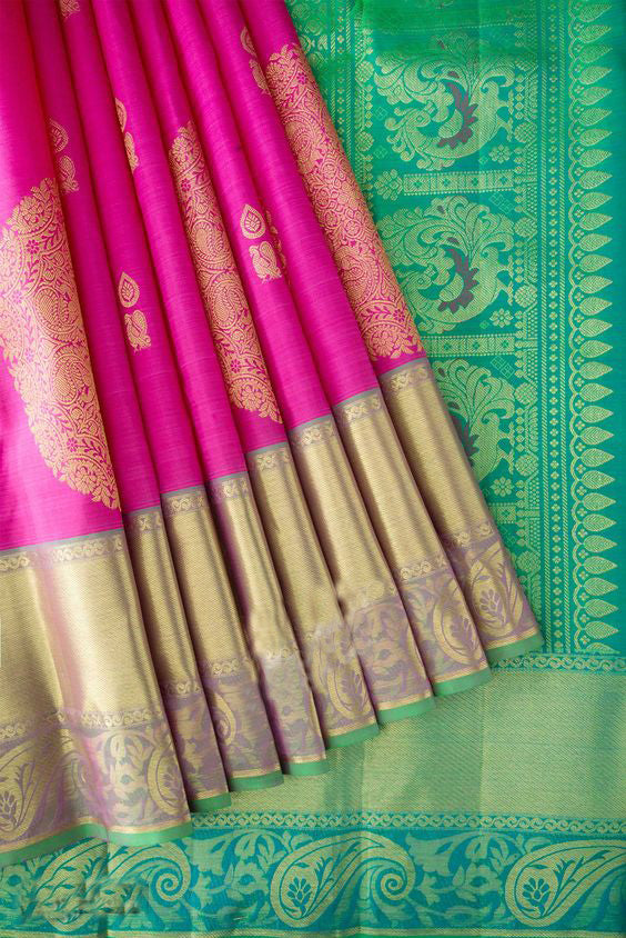 Awesome Bollywood Designer Banarasi Silk  Saree BS7221