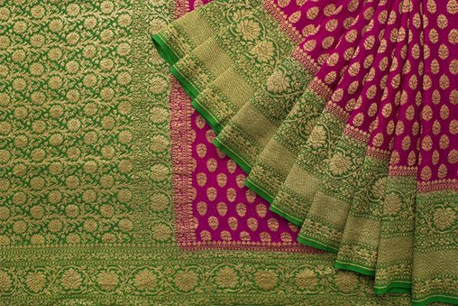 Awesome Bollywood Designer Banarasi Silk  Saree BS7230