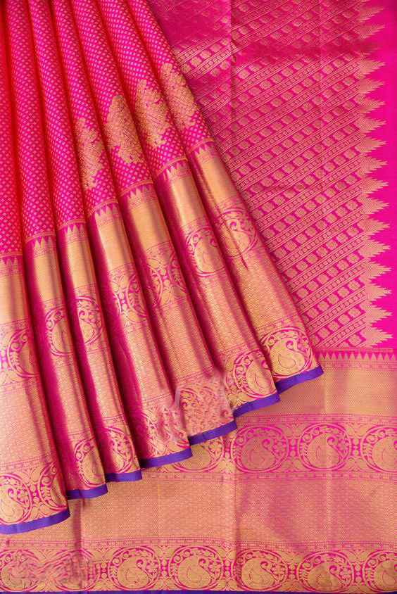 Awesome Bollywood Designer Banarasi Silk  Saree BS7233