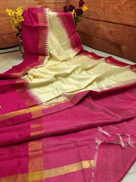 Awesome Designer Dupion Silk Saree DP4001