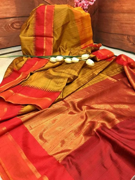 Wonderfull Designer Dupion Silk Saree DP4002