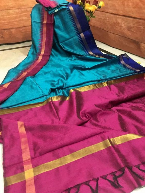 New Latest Dupion Silk Saree DP4010