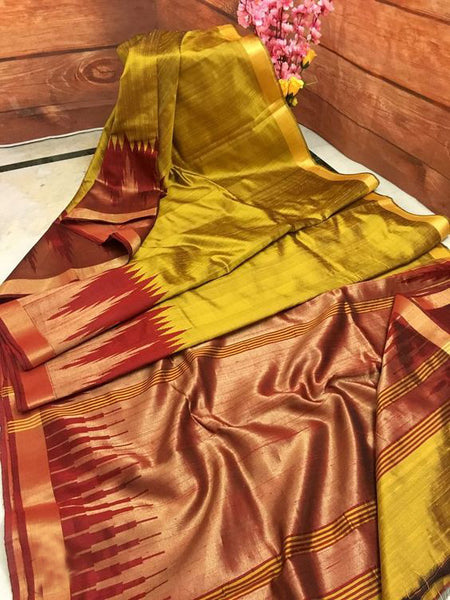 Latest Exclusive Designer Dupion Silk Saree DP4019
