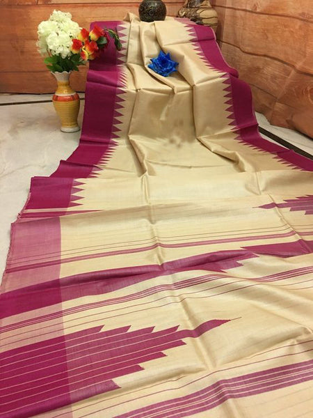 New Attractive Design of Dupion Silk Saree DP4028