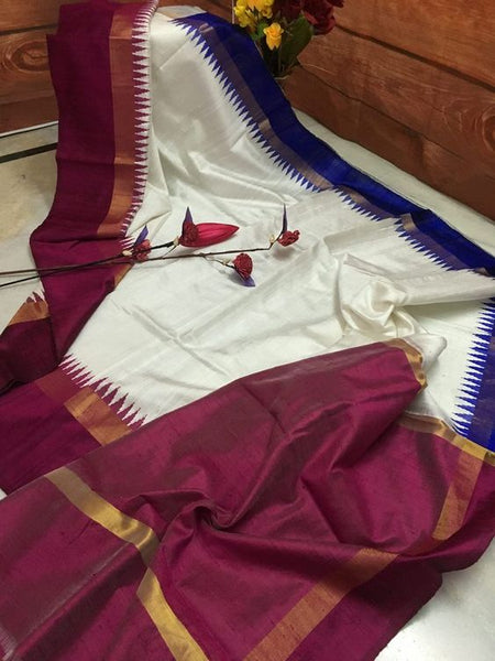 Luxurious Designer Dupion Silk Saree DP4049