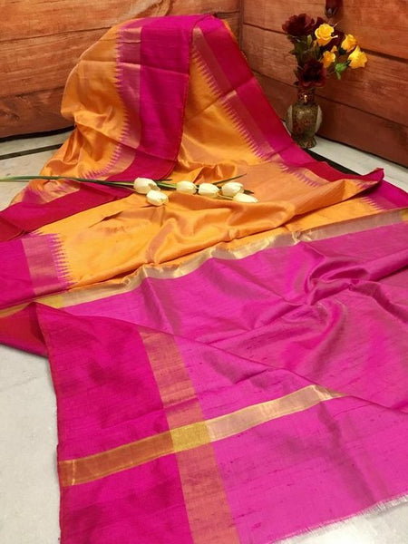 Luxurious Designer Dupion Silk Saree DP4052