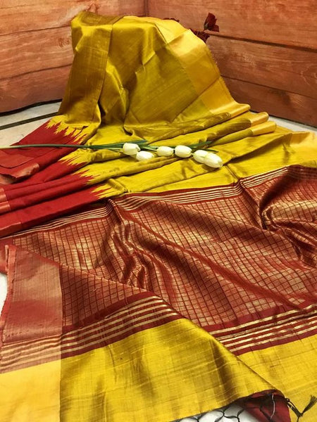 Ethnic Designer Dupion Silk Saree DP4061