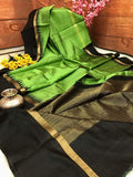 Ethnic Designer Dupion Silk Saree DP4062