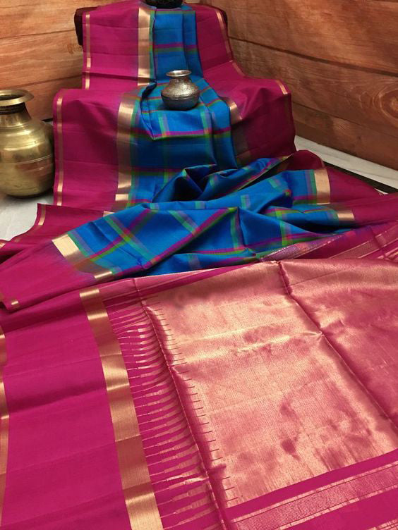 Embellished Designer Dupion Silk Saree DP4077