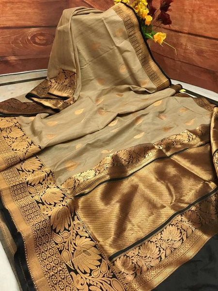 Awesome Bollywood Designer  Kanchipuram Silk Saree KC6003