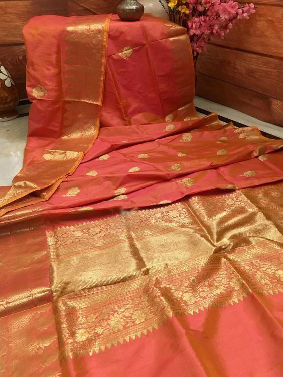 Beautyfull Bollywood Designer  Kanchipuram Silk Saree KC6007