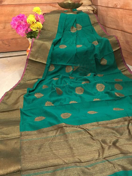 Leatest New Bollywood Designer  Kanchipuram Silk Saree KC6034
