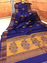 Awesome New Bollywood Designer  Kanchipuram Silk Saree KC6044
